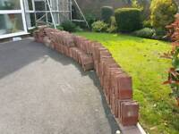 Approx 500 roof tiles mixture of halfs tile and a halfs but mainly minis