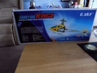 E-SKY HONEYBEE KING 2 ELECTRIC POWERED RADIO CONTROL HELICOPTER