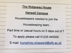 Housekeepers wanted