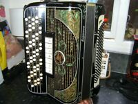 ranco antonio supervox chromatic accordion musette tuned