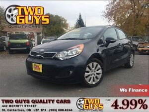 2013 Kia Rio EX SUNROOF MAGS BACK UP CAMERA HEATED FRONT SEATS