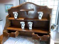 French Solid Oak Farmhouse Dresser Top