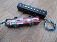 BRAND NEW JAZZ BASS PICKUPS BILL LAWRENCE J45 WILDE [4 or 5 string, Fender, Warmoth etc Bitcoin OK]