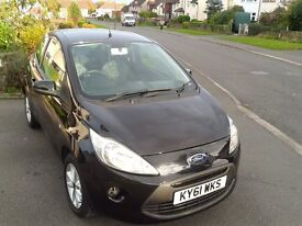 Ford KA 1.2 Edge Recently Serviced – 2011 61 Plate - New Clutch