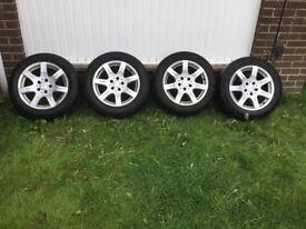 """Mercedes alloy wheels 16"""""""