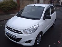 Hyundai (i10) 63 reg 2014 , manual , 5 doors , white , ideal first car, excellent condition
