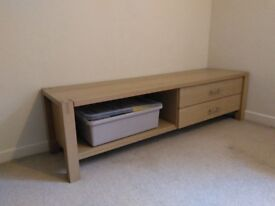 Solid beech media unit