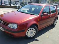 Vw golf 1.6 full service history with no foults