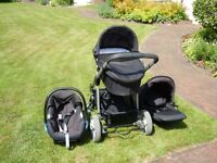iCandy Apple 2 Pear Travel System pushchair. 2 years old. Excellent condition