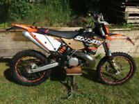 KTM EXC E 300 2 stroke 6 days enduro road legal v5 present
