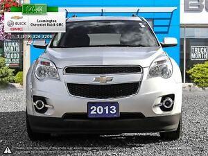 2013 Chevrolet Equinox GREAT LOOKING VEHICLE 2LT 4 CYLINDER 2.4  Windsor Region Ontario image 2