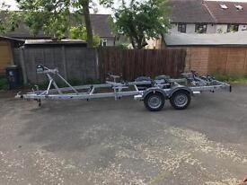 2016 Nautilus boat roller trailer