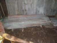 Corrugated iron sheets for sale
