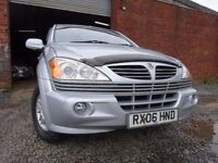 06 SSANGYONG KYRON SE 2.0 4X4 DIESEL,MOT FEB 018,2 OWNERS,2 KEYS,PART HISTORY,LOW MILEAGE MPV 4X4