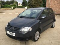 VW Fox 1.2 55 (2010) 50,000 miles- Manual - Petrol - 3 door hatchback - FSH - One Owner - Warranty