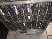 HP HSTNS 1024 SERVER, 16 BAYS OF 72GB HARD DRIVES
