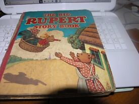Vintage Book The Big Rupert Story Book Weymouth
