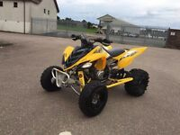 Yamaha Raptor 700 se. Road legal Quad