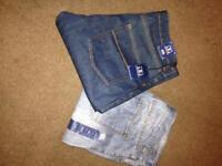 2 x 34WL men's jeans