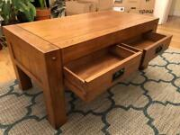 Solid Oak coffee table *perfect condition*