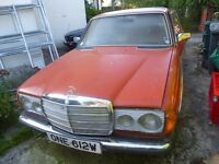 Collectable Mercedes Benz 200 SERIES - restoration job