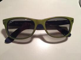 Rayban New Wayfarer bicolor sunglasses