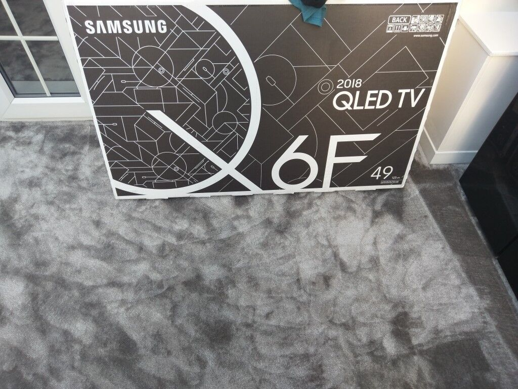 Samsung Qled 2018 4K HDR TV Q6F49 5 years warranty | in Middleton,  Manchester | Gumtree