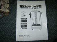 TITAN POWER FIT MASSAGE