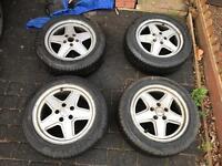 """16"""" Winter Tyres on Audi Alloys"""