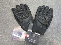 BNWT Knox Hanbury Motorcycle Gloves (XL)
