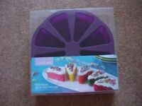 LAKELAND - INDIVIDUAL SLICE CAKE MOULD - FOR 8 SLICES - SILICONE - NEW