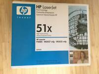 Original HP Q7551X Black Toner Cartridge