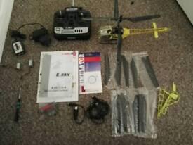 Esky Lama V3 4 Channel RC Helicopter Bundle