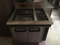 Blue Seal 6 Ring Electric Oven Range E50D, 415V, 3 Phase Commercial Electric Hob