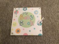 M&S 'My Baby Book'. Unused. A keepsake record of your baby