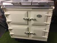 Stunning Everhot range cooker 100 oven aga cream and chrome inc vat