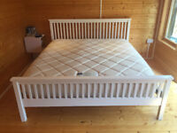 Super King sized bed and mattress