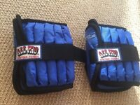 All Pro Weight Adjustable Ankle Weights