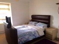 FLAT SHARE. Large double bedroom in two bed flat close to high street. Live in landlady.