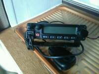 Yaesu fm transceiver radio