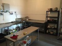 Big Commercial Kitchen to rent fully equipped £100 a day, 5 minutes from Manchester city centre.