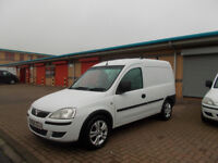 VAUXHALL COMBO 1.3 CDTI DIESEL VAN BRILLIANT WHITE NEW SHAPE 2008 BARGAIN £1450 *LOOK* PX/DELIVERY