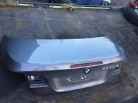 Bmw e93 bootlid