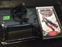 Sony PSP Console + Tekken Game and Memory card