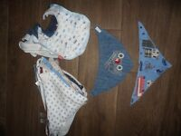 35 Baby Bibs Next Joules M & S Nuby Etc Some Hardly Worn Plus Nuby Soother Unopened