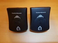 PAIR SET -2x Netricity Powerline 85 Mbps Adapters - home networking via mains sockets