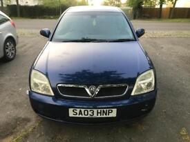 2003 Vauxhall vectra 1.8 petrol car