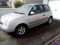 Volkswagen, LUPO, Hatchback, 2001, Manual, 999 (cc), 3 doors