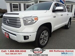 2014 Toyota Tundra Platinum 5.7L V8 with TRD Exhaust