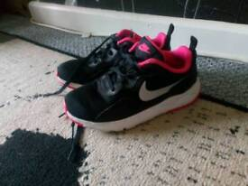 Girls nike trainers. Size 12